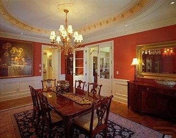 Red Dining Room Design Ideas, Pictures, Remodel and Decor