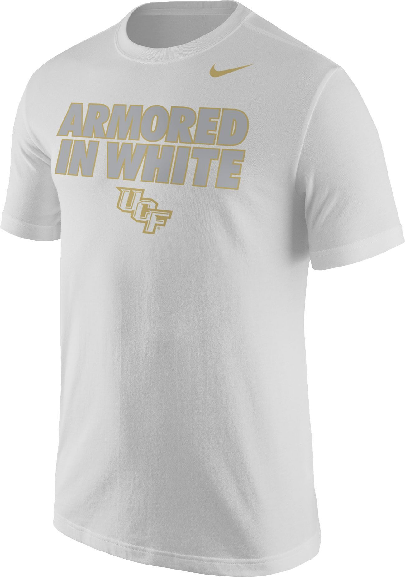 finest selection e6958 43634 Nike Men's UCF Knights 'Armored in White' White Out Football ...