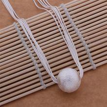 5a2165c7bdd8 Venta al por mayor envío gratuito 925 joyería de plata cadenas de collar  colgante WN-506(China (Mainland))
