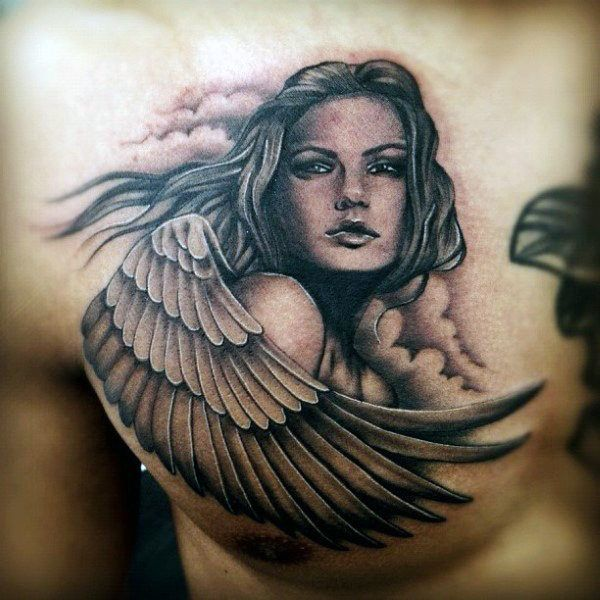 Top 103 Guardian Angel Tattoo Ideas 2020 Inspiration Guide Tattoo Photo Ange
