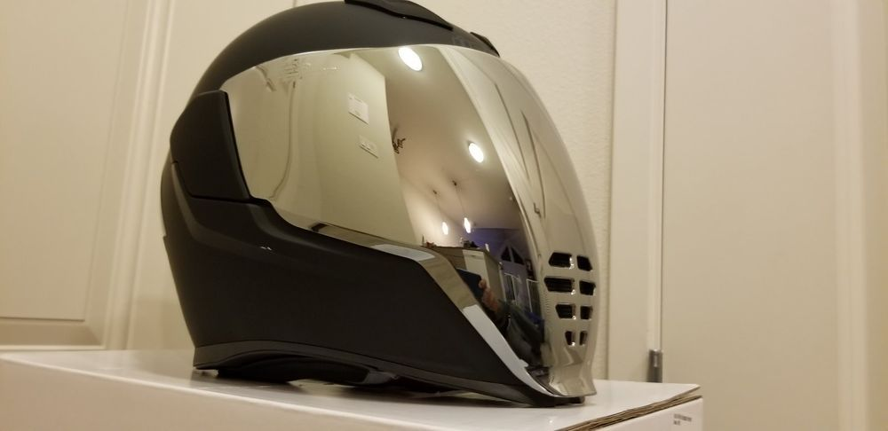 *FREE SHIPPING* Icon Airflite Rubatone Full Face DOT Motorcycle Helmet