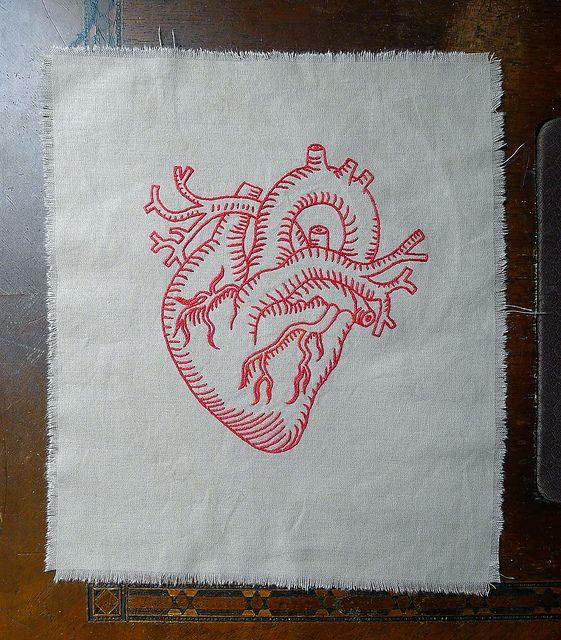 heart by broderies de Cécile