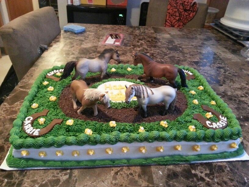 Photo of Eli's Spirit Party – Horse cake