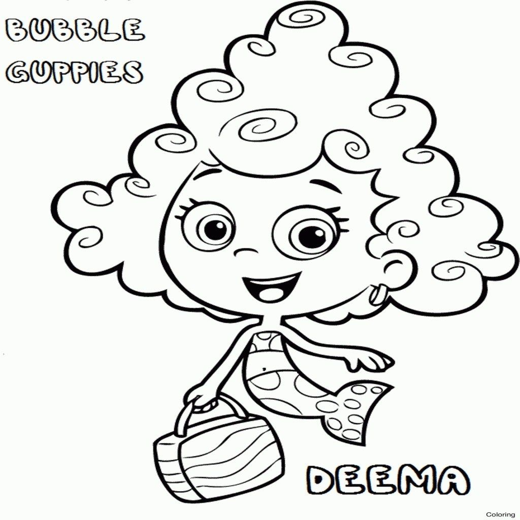 Bubble Guppies Coloring Book Luxury Bubble Guppies Coloring Pages