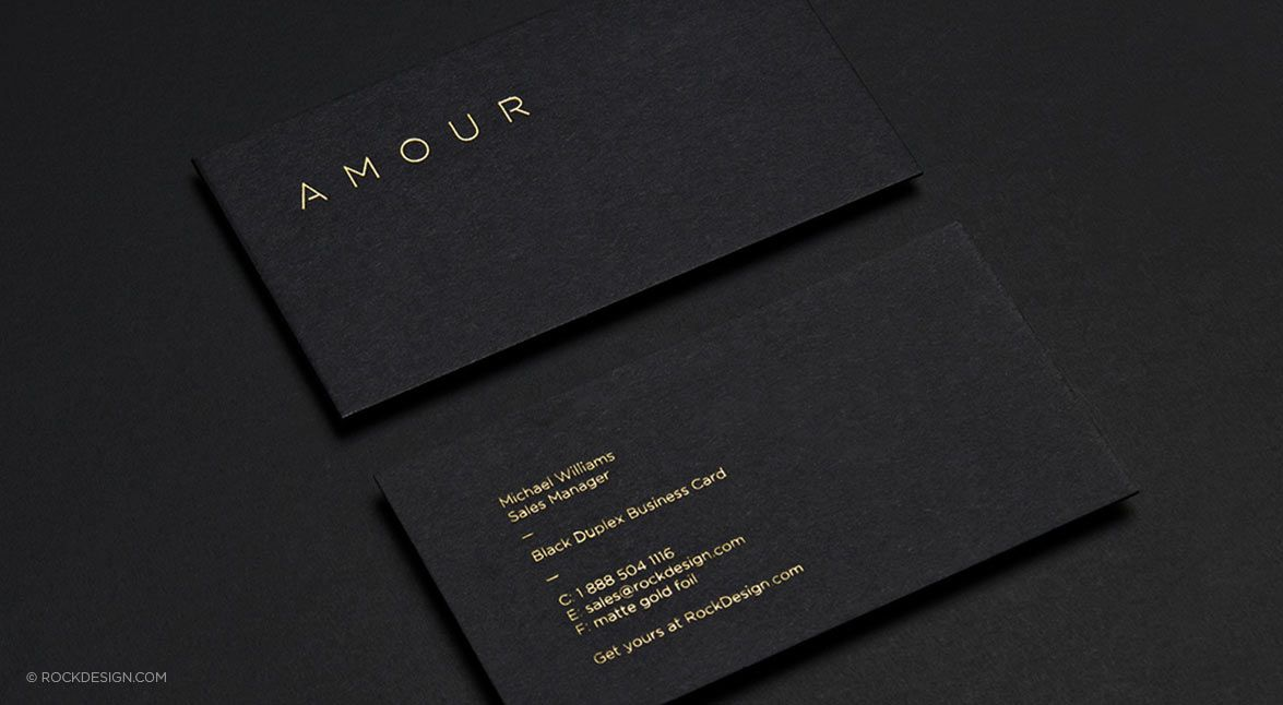 Foil Stamping Luxury Business Cards Printing Business Cards Business Card Mock Up