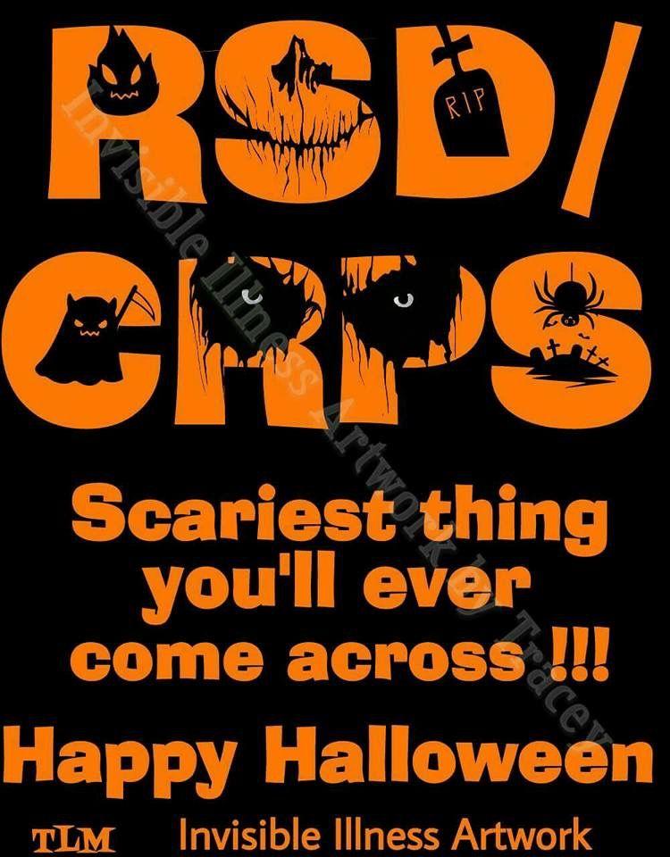 CRPS halloween