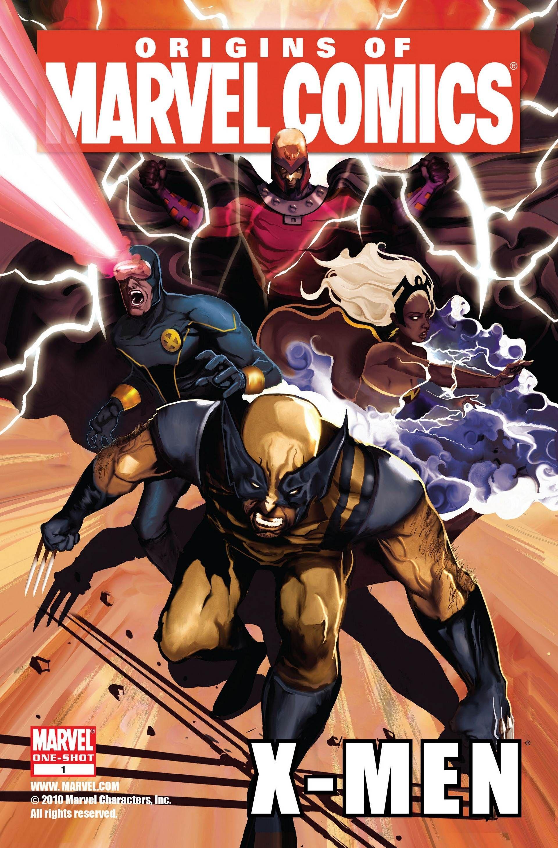Origins Of Marvel Comics X Men 001 2010 Marvel Comics Vintage Marvel Comics Funny Marvel Comic Books