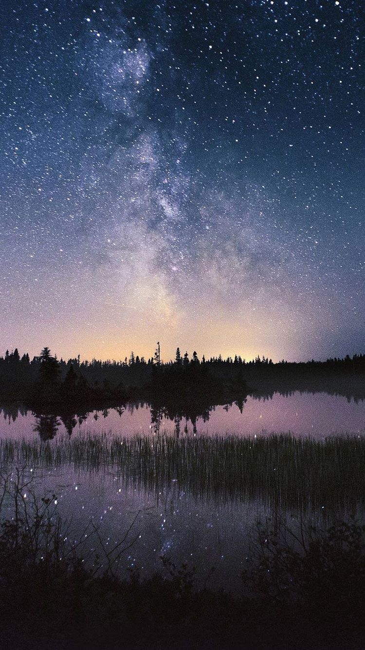 Night Sky Iphone 6 Background Backgrounds Pinterest Iphone
