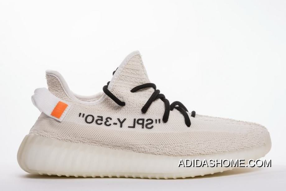Off White X Adidas Yeezy Boost 350 V2 Cream Beige White New