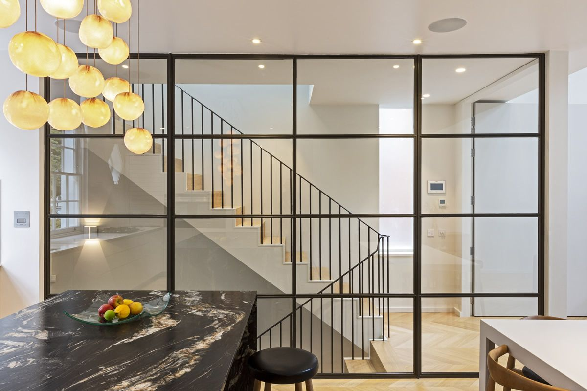A fantastic example of an internal Clement steel screen