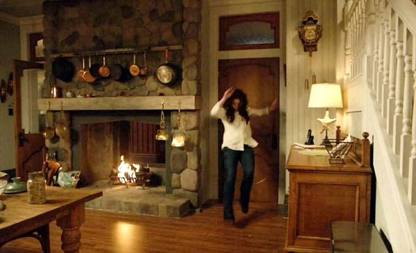 Inside the Red Victorian House on the TV Show \