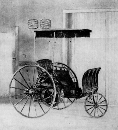 Buckeye Gasoline Buggy 1891 Buckeye Gasoline Buggy Wikipedia Classic Cars Vintage Car Brands Antique Cars