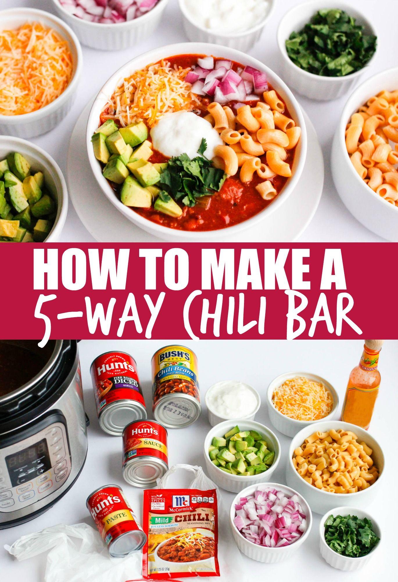 The Best Instant Pot Chili Recipe Chili Bar Pressure Cooker Chili Pressure Cooker Chili Recipe