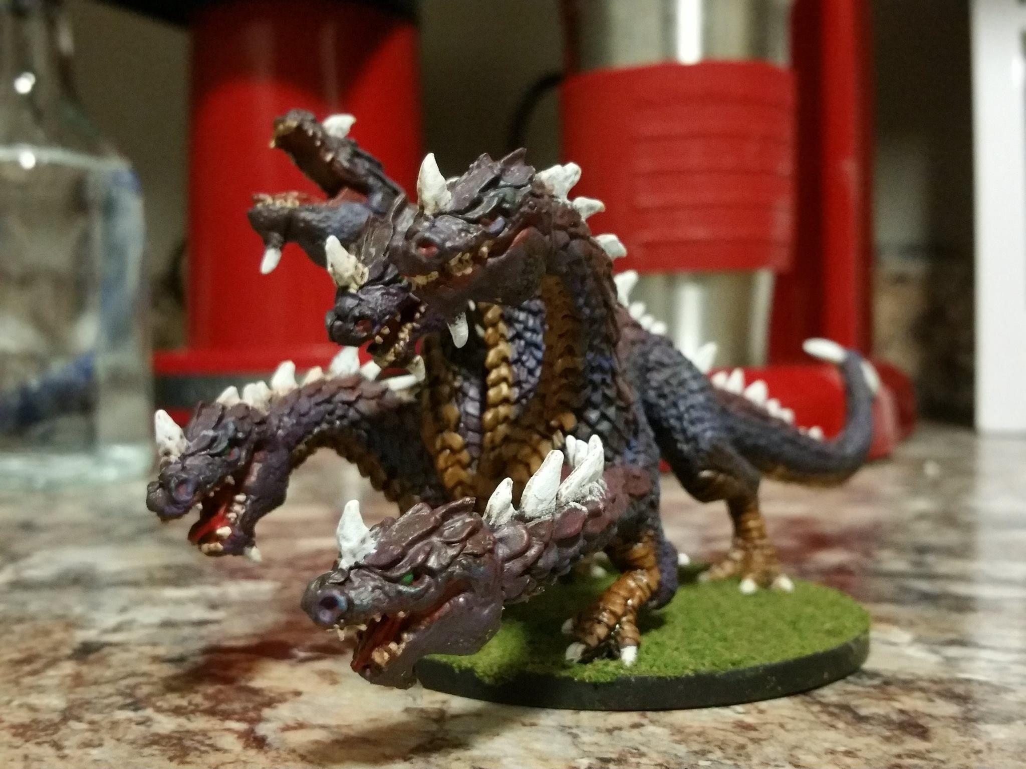 Hydra Painted Miniature Figure
