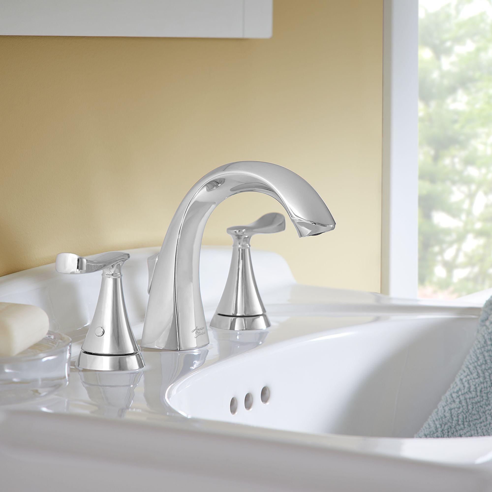 Chatfield 2 Handle Widespread Bathroom Faucet American Standard Sink Faucets Bathroom Sink Faucets Bathroom Faucets