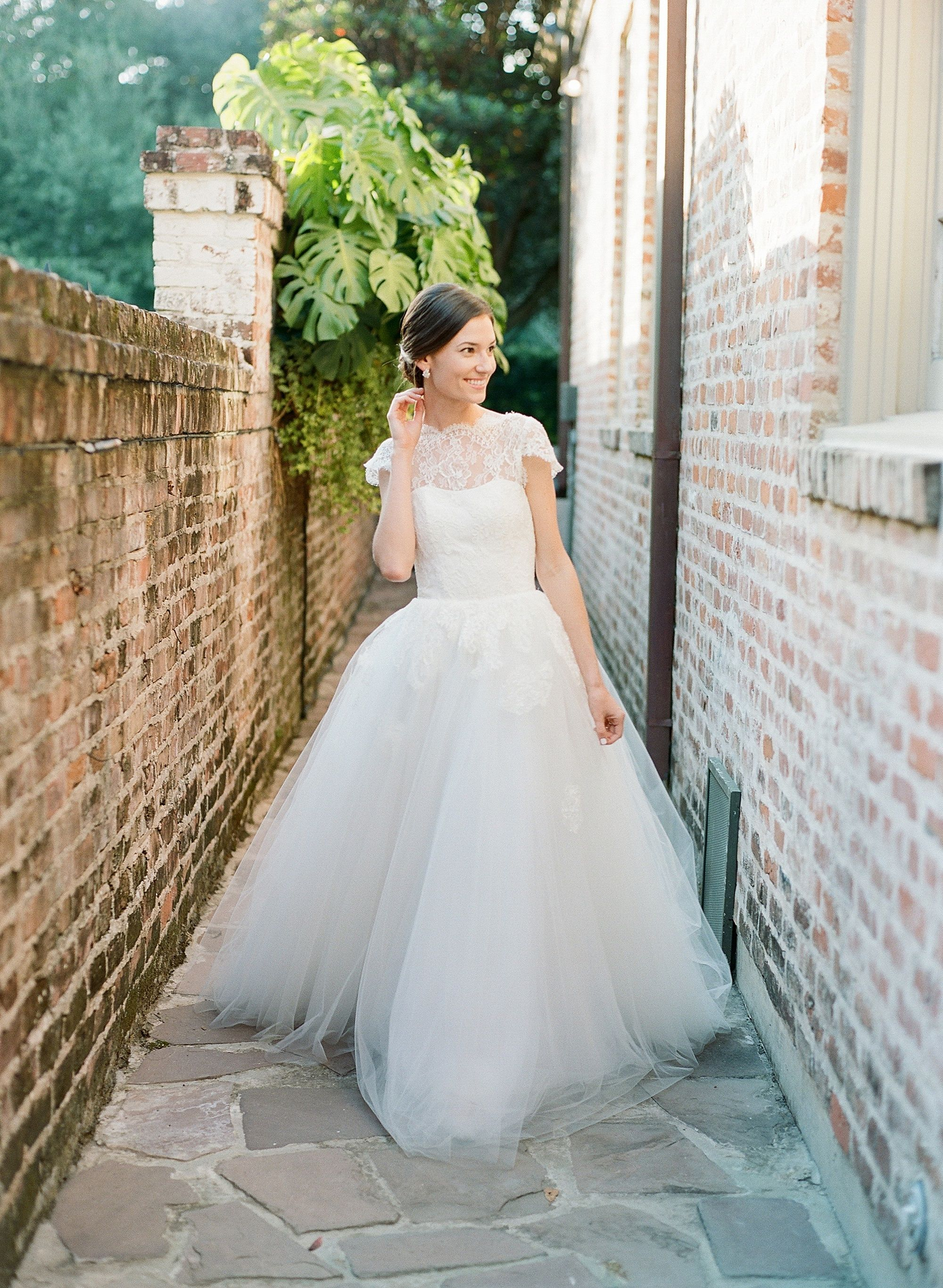 Priscilla of boston wedding dresses  Classic Meets Modern Wedding in Historic New Orleans  Wedding