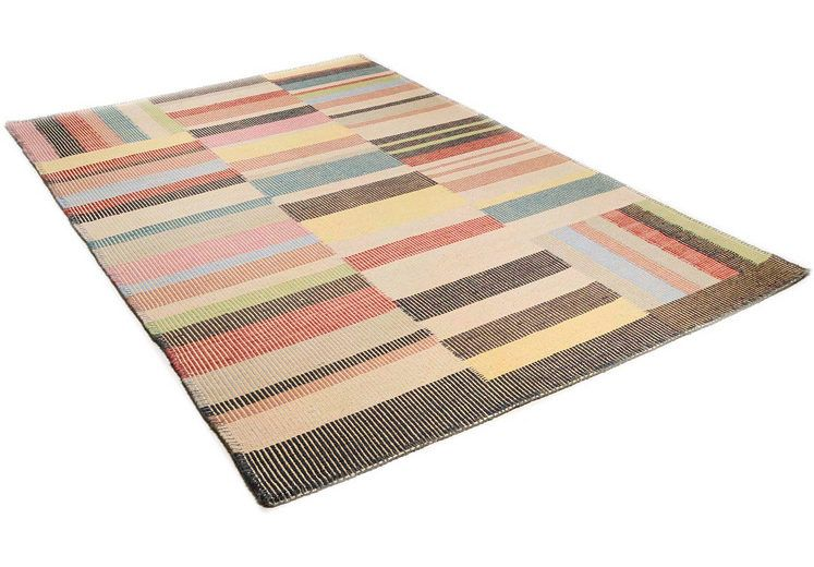 Wollteppich Patch Tom Tailor Rechteckig Hohe 6 Mm Wolle Rugs