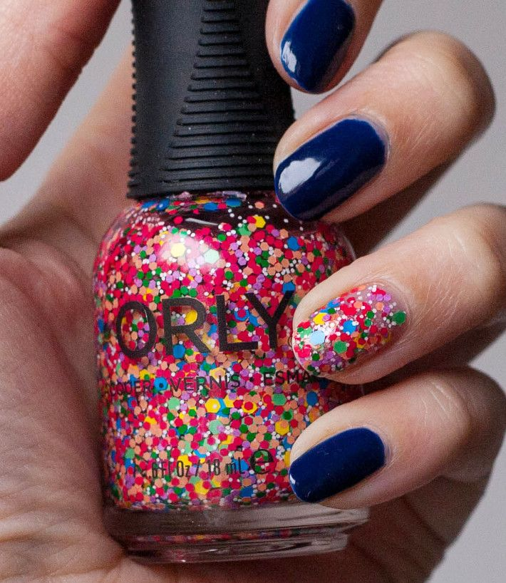 Beauty: Orly Turn it Up and Midnight Show review   Swatch, Orly nail ...