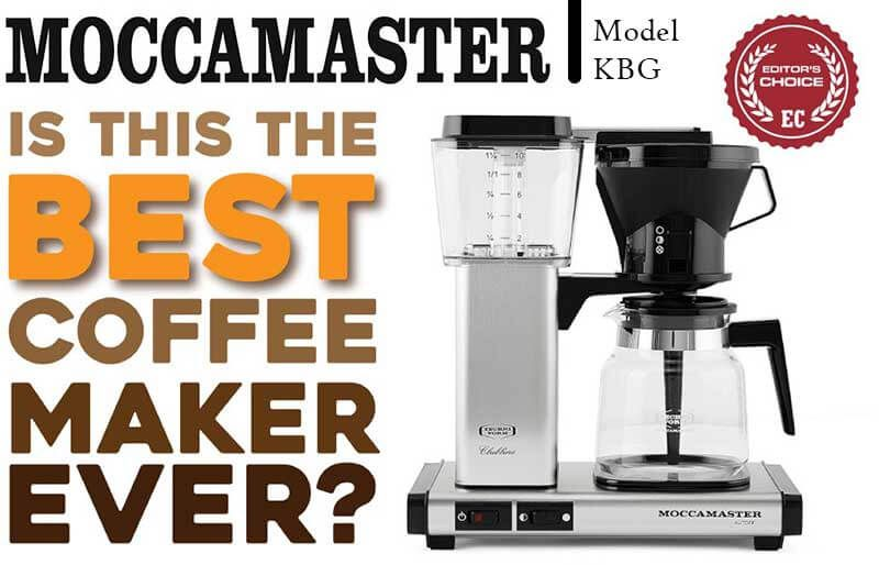 Moccamaster Kbg Coffee Maker Review Technivorm Moccamaster Coffee