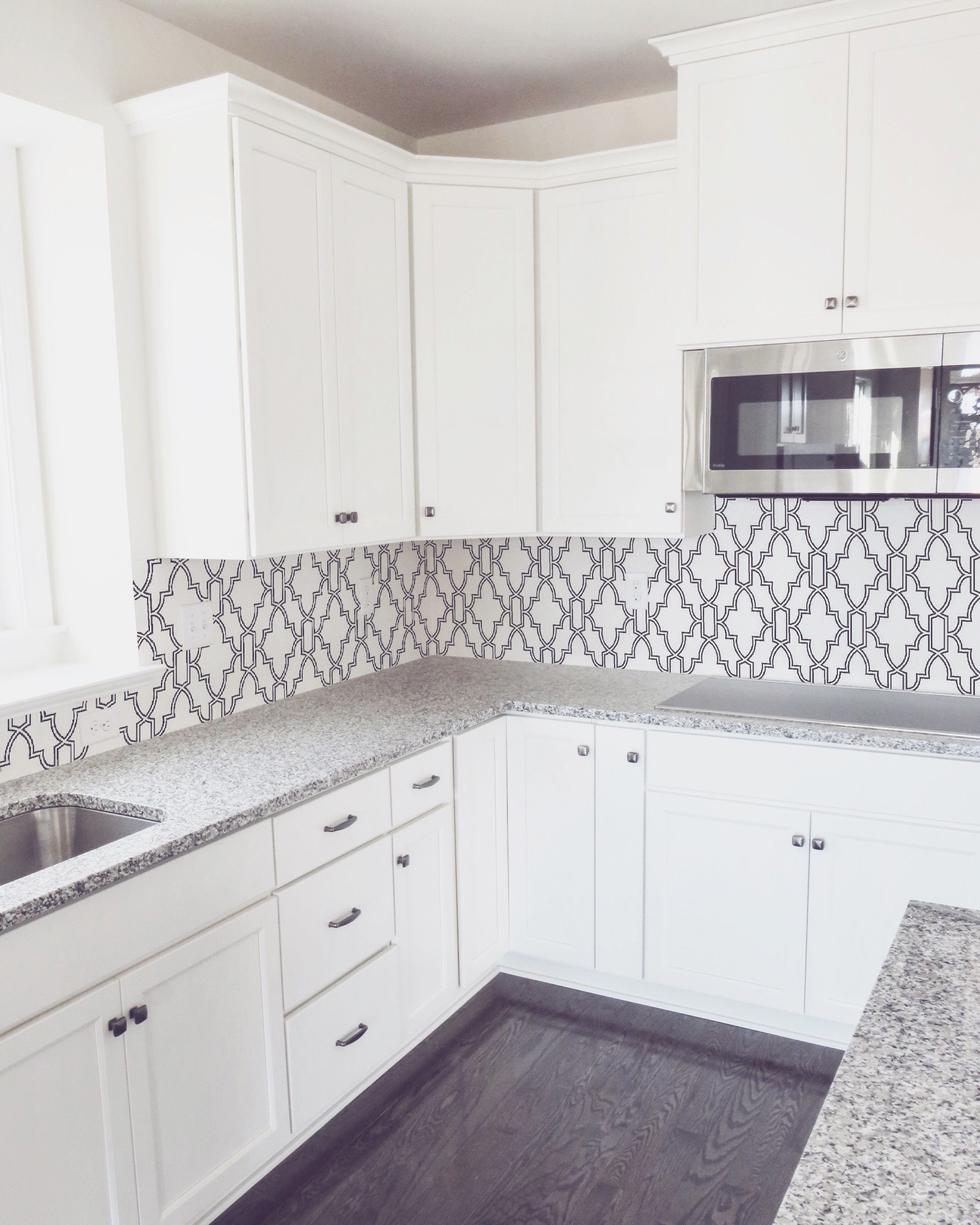 Kitchen Backsplash Peel And Stick Removable Wallpaper Kitchen
