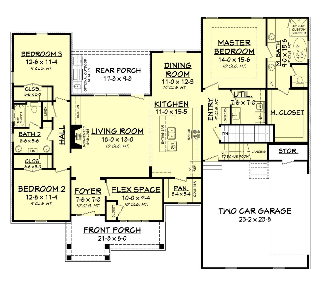 Refuge Court House Plan In 2020 House Plans How To Plan Cottage House Plans