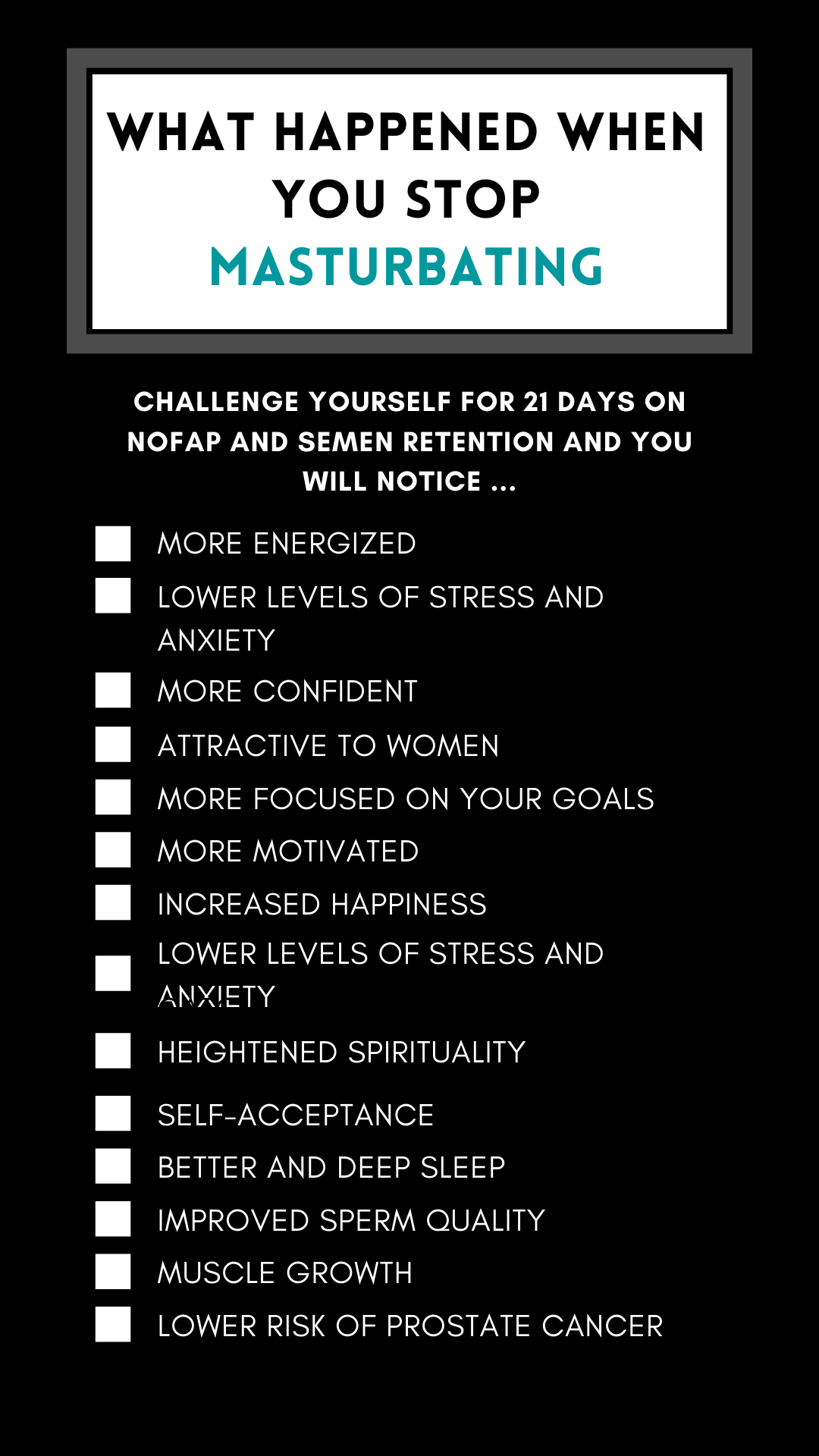 What are the benefits of nofap