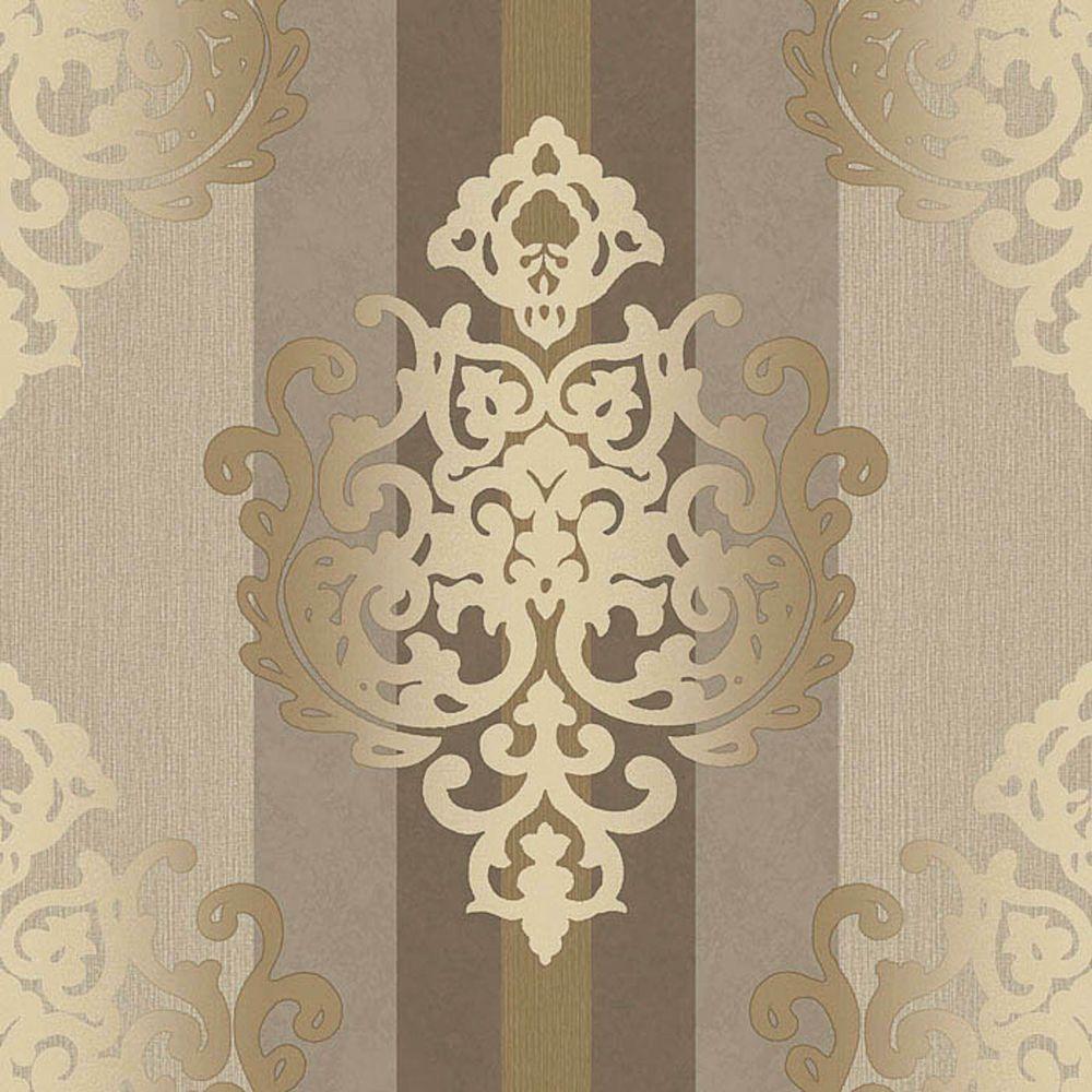 Wundervoll Rasch Tapete Deha 006422 Rasch Textil Vinyltapete Ornament Beige Braun  Glitzer In Heimwerker, Farben,