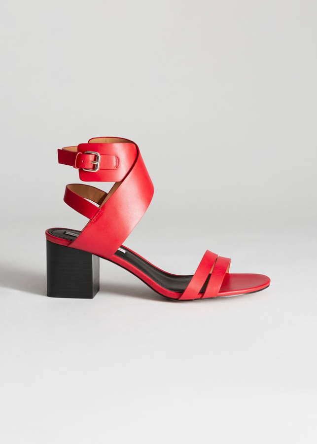 Criss Cross Heeled Sandals | Products in 2019 | Sandals