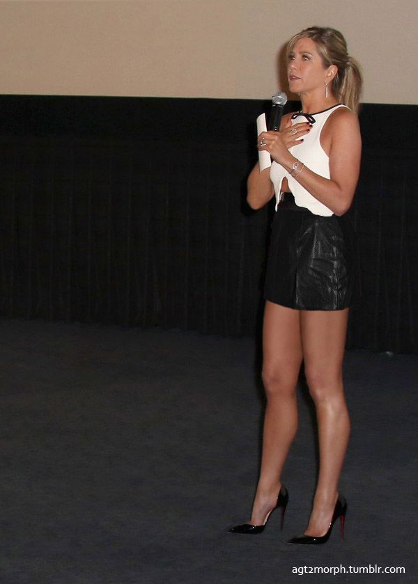 Image result for Hot images of Jennifer aniston in a mini  skirt