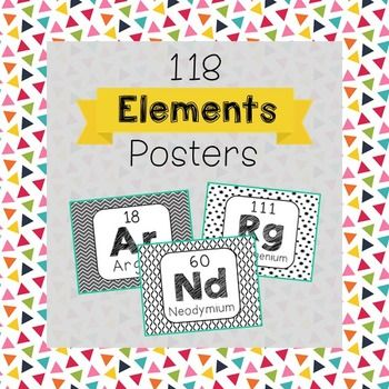 Periodic table of elements word wall terms or flash cards chemistry periodic table of elements word wall posters in black and white for super easy printing urtaz Image collections