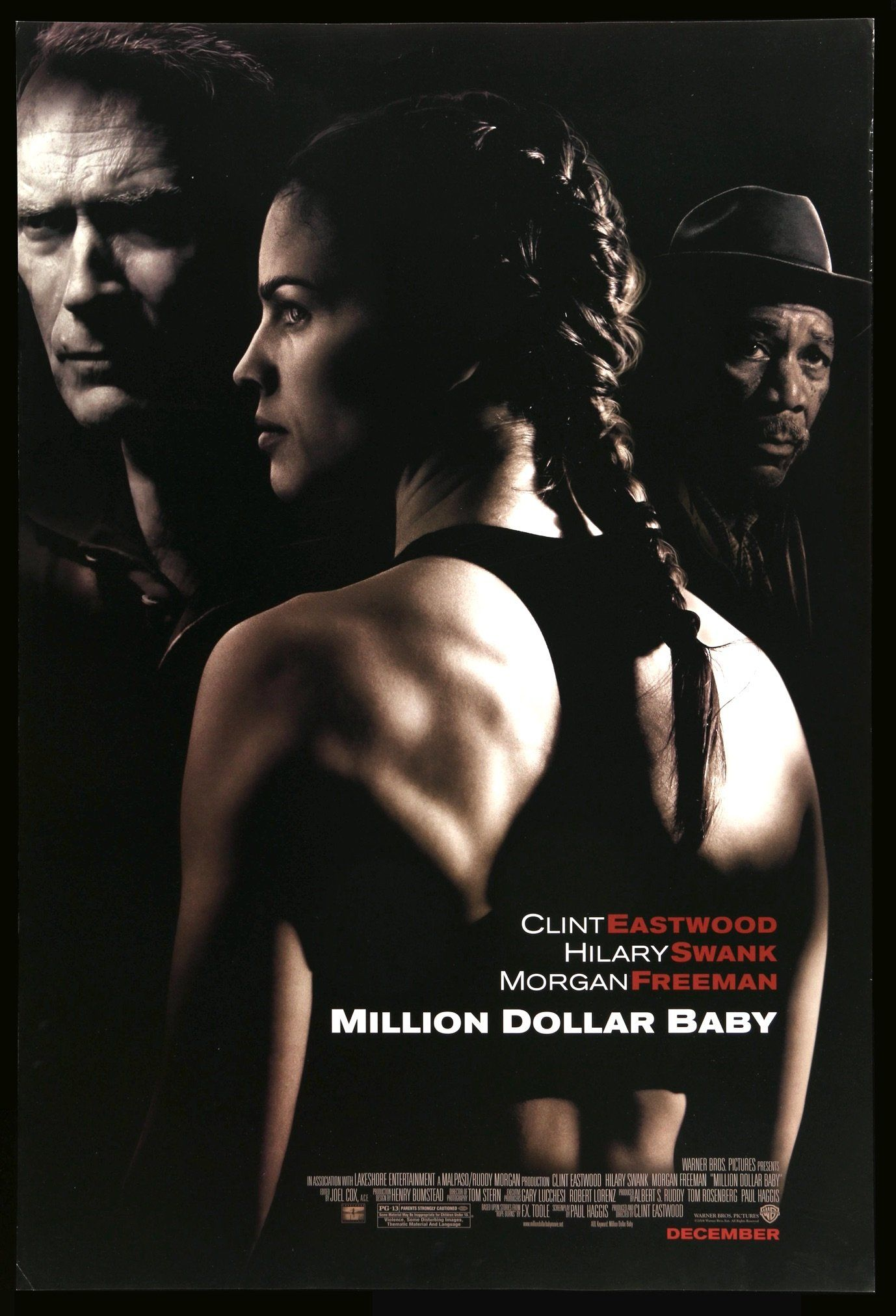 Million Dollar Baby (2004) in 2020 Clint eastwood movies