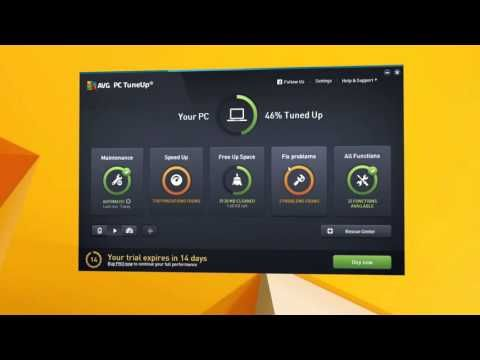 Avg Pc Tuneup 16 Get A Faster Cleaner Long Lasting Windows Pc Download Software Preview Youtube Software Cleaners Long Lasting