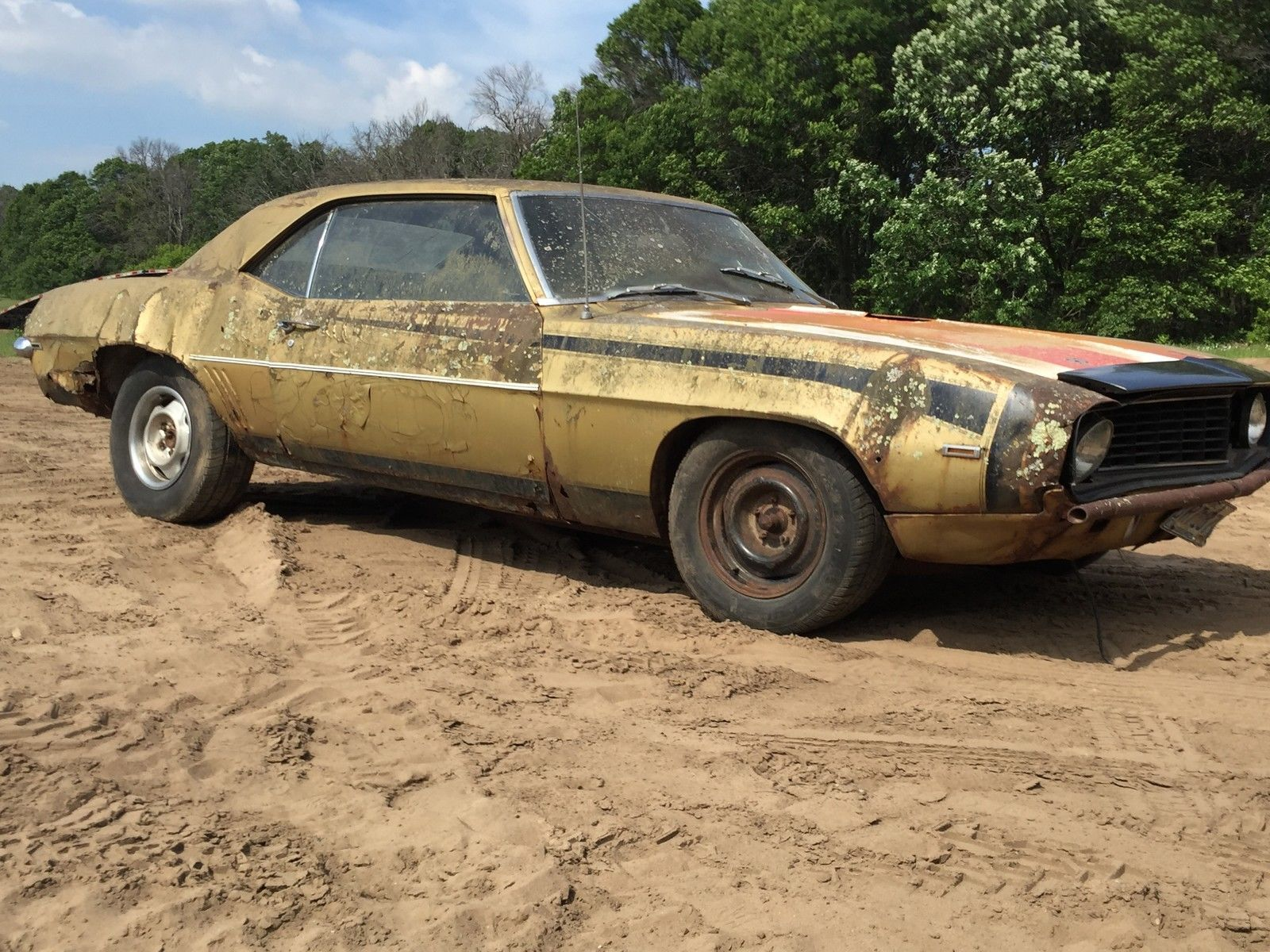1969 Chevrolet Camaro Project car bar find | Project cars for sale ...