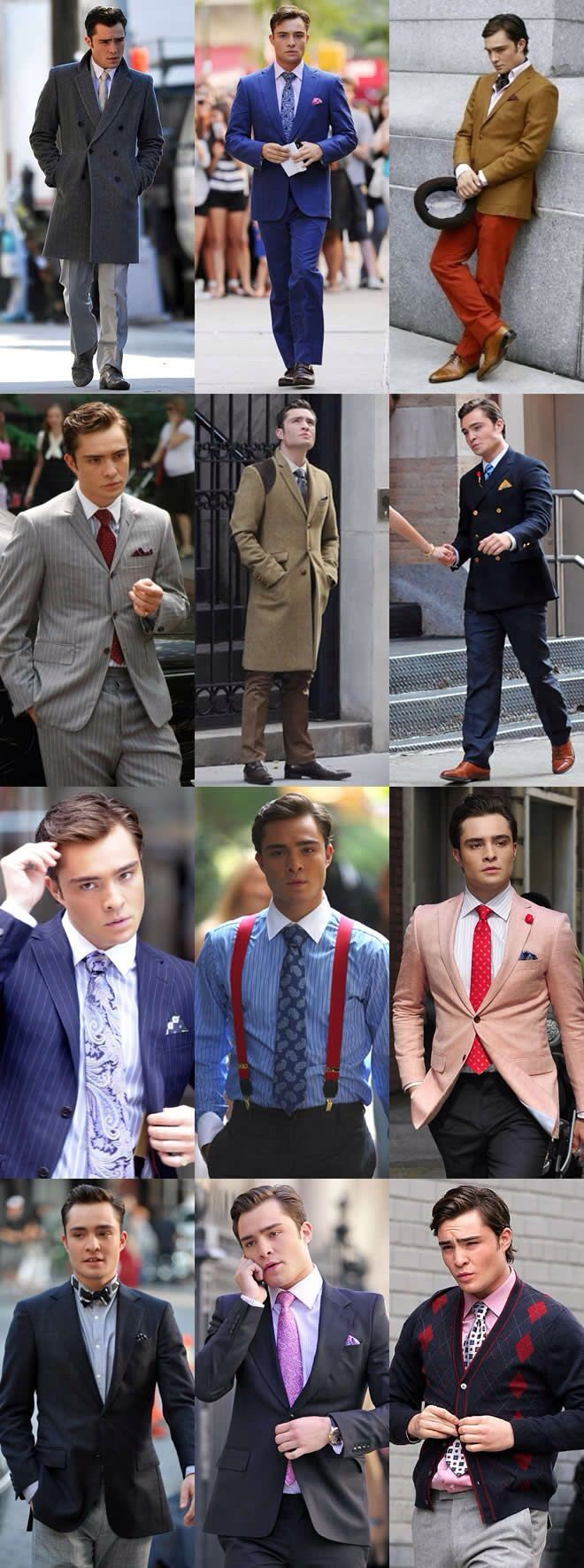 Every guy should take notes from the one and only fashion icon chuck bass