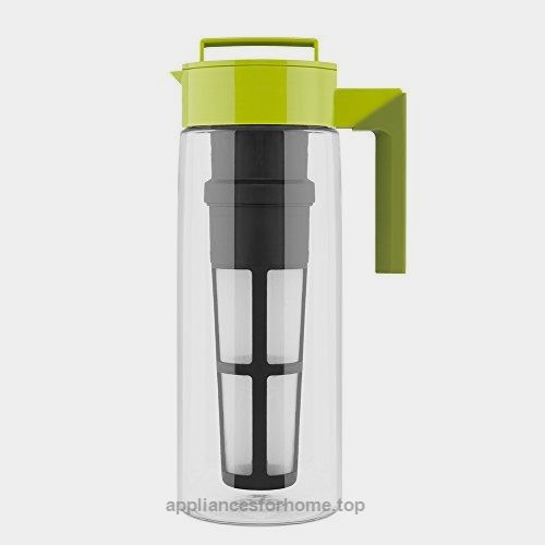Takeya Flash Chill Iced Tea Maker (2 Quarts Avocado)  Check It Out Now     $25.02    Combining our tea infuser design with our patented Flash Chill Technology, making delicious iced tea is fast and easy ..  http://www.appliancesforhome.top/2017/03/18/takeya-flash-chill-iced-tea-maker-2-quarts-avocado/