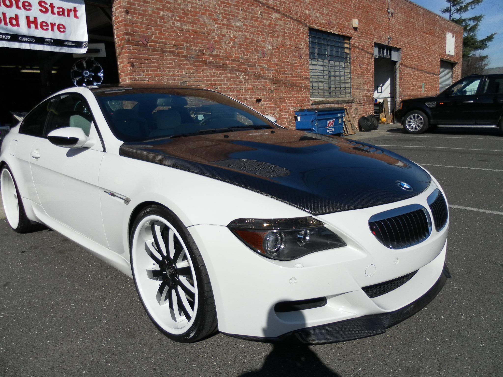 Bmw m6 with 22 forgiato wheels by junior s car stereo in fremont ca click