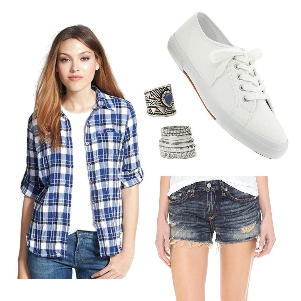 Flannel shirts and shorts   Easy Ways to Wear Your Flannels  Flannels Shorts and Fashion beauty