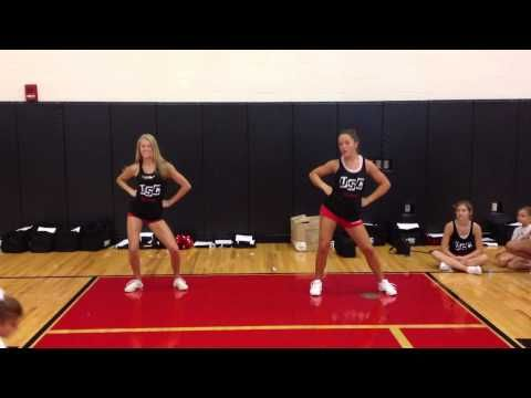 1st 2nd Grade Roar Halftime Dance Youtube Cheer Routines