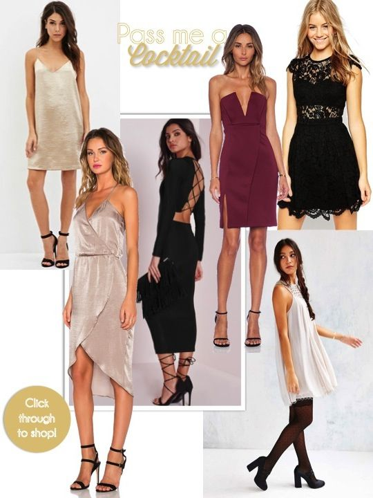 Affordable cocktail dresses for the holiday season! | ( From the ...