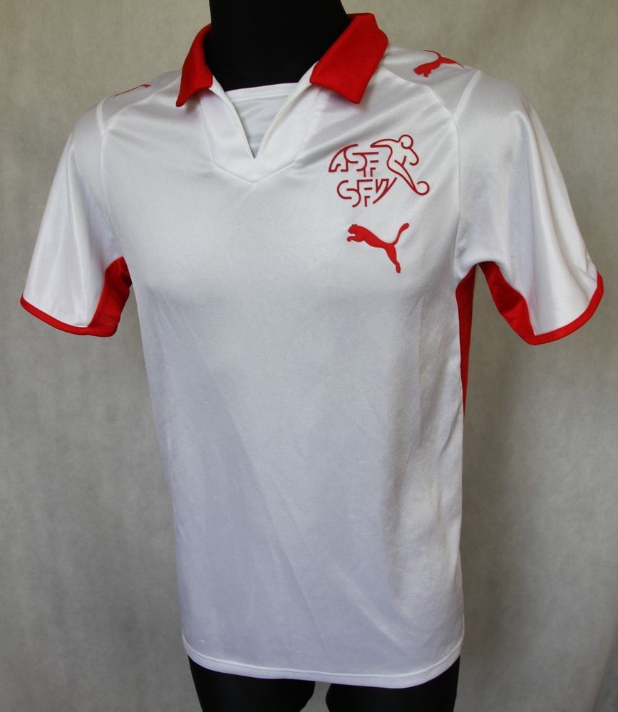 finest selection 1379a 24d81 SWITZERLAND NATIONAL FOOTBALL TEAM 2007/2009 AWAY JERSEY ...