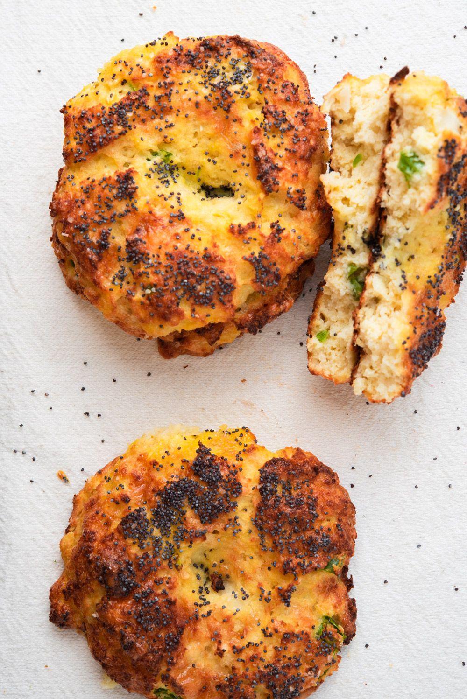 Jalapeno Cheddar Cauliflower Bagels Recipe Banana Bread
