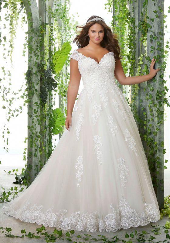 Kosette Plus Size Wedding Dress | Morilee