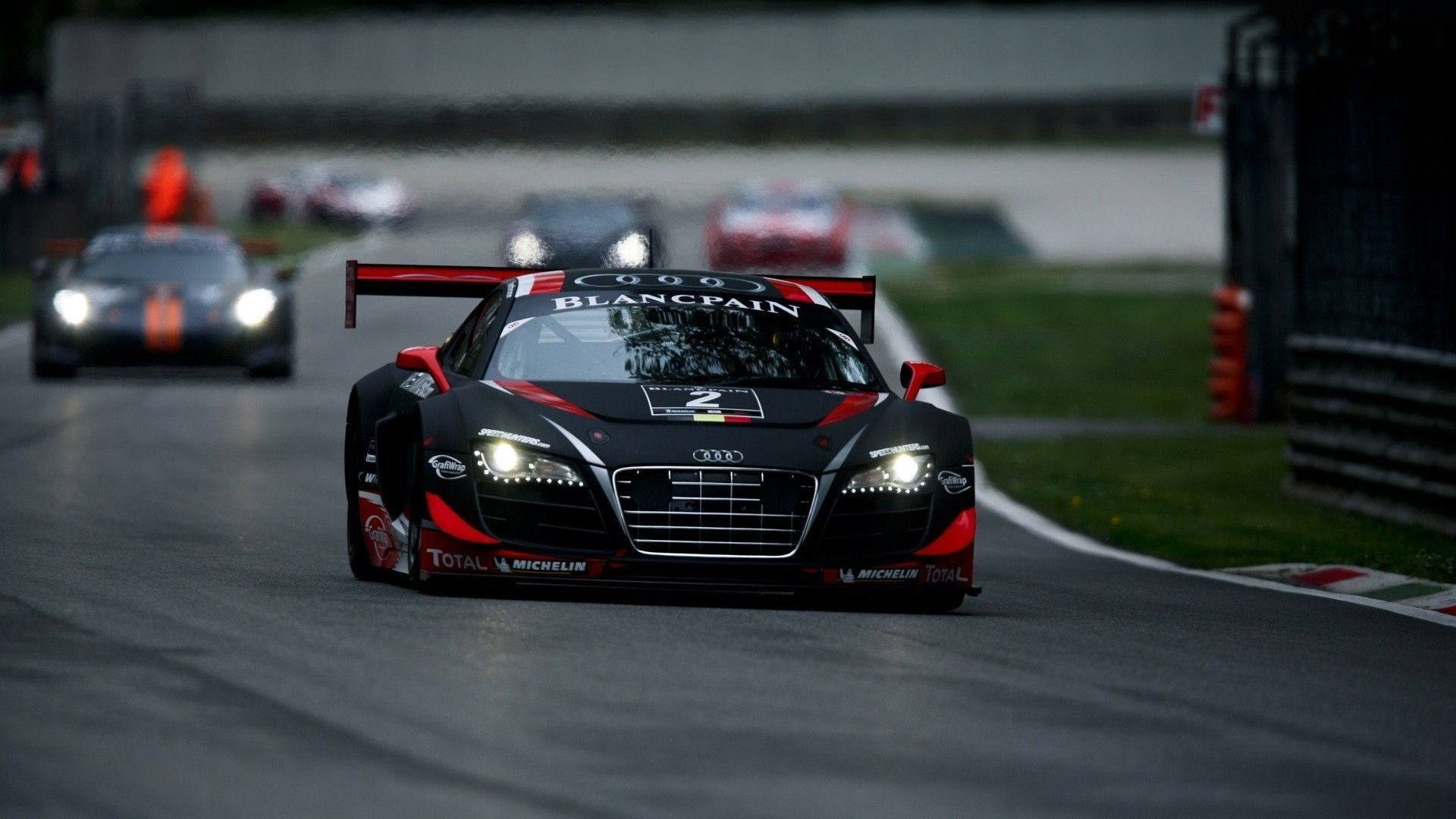 Audi R8 Gt Tdi Le Mans Blancpain Cars Wallpaper | Robs Collections ...