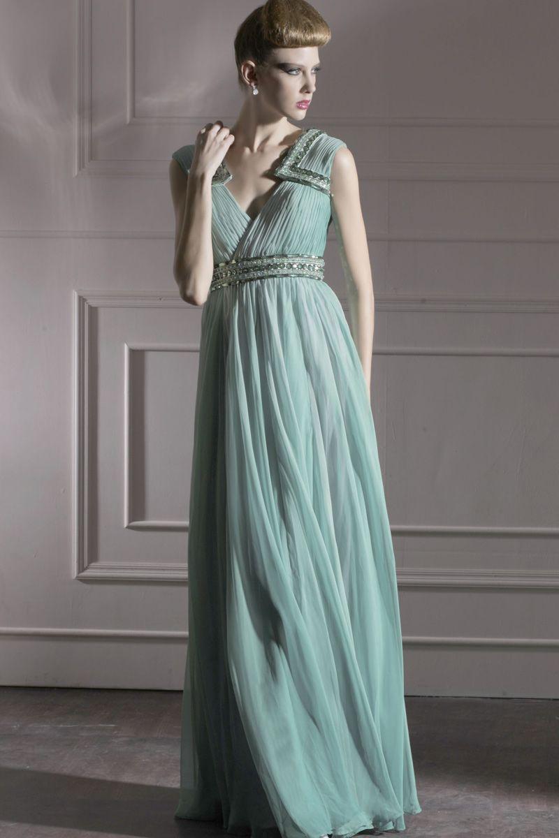 Ball Dresses 2011 Nz - Evening Dresses :: Grecian Nymph Evening Gown ...