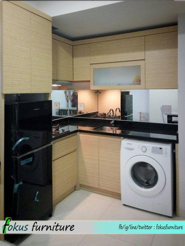 Kitchen Set Di Apartemen Kemayoran