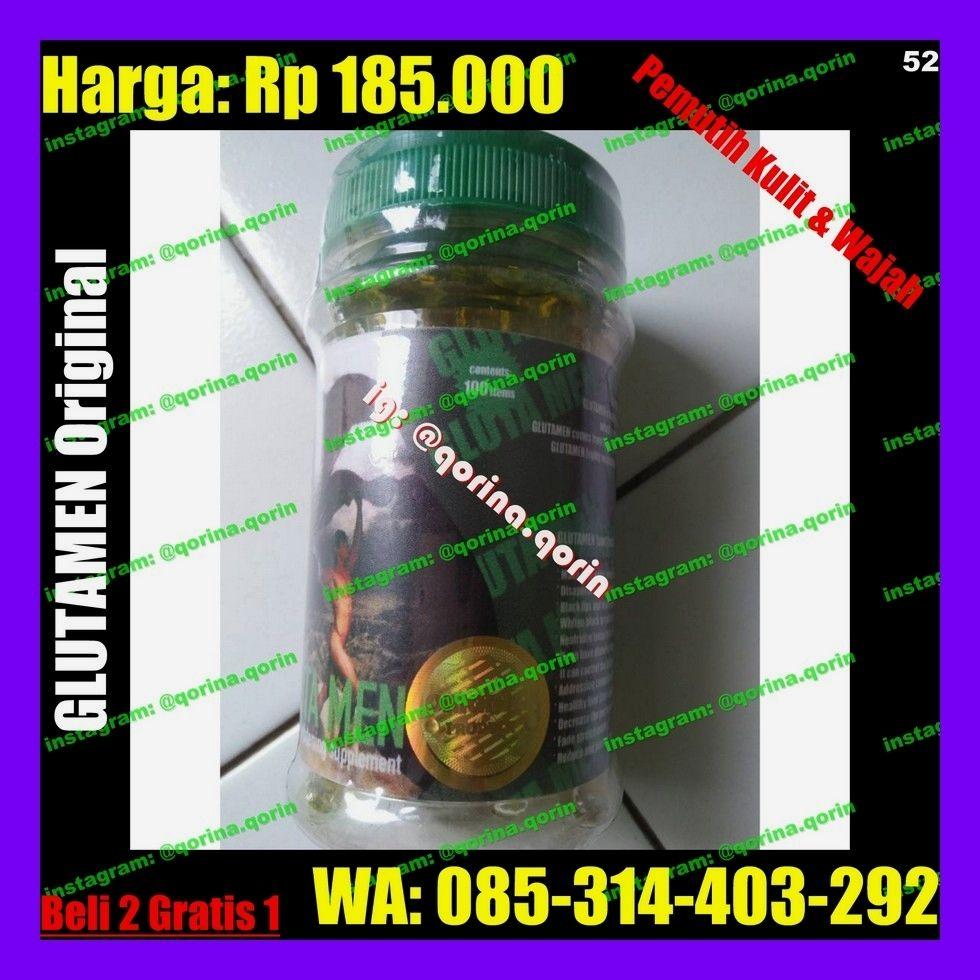 . Cara Pesan Hubungi: WA: 085-314-403-292 Manfaat Glutamen
