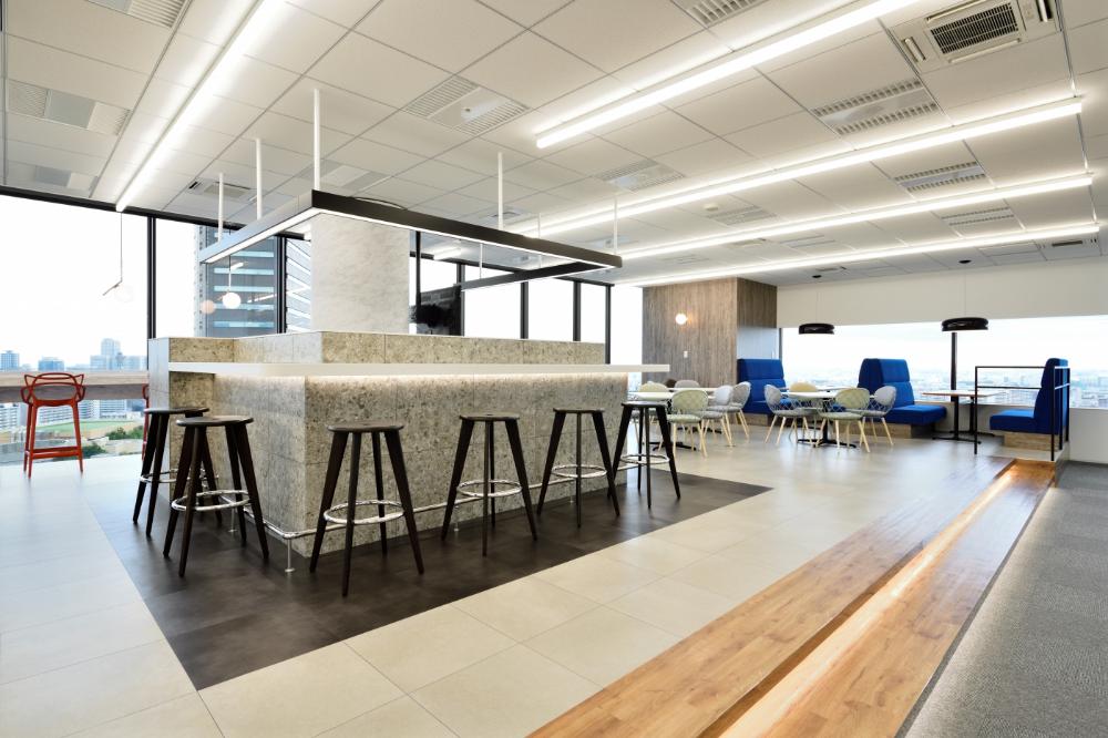 高級感と過ごしやすさを両立したオフィス デザイナーズオフィスのヴィス 高級オフィス オフィス 家具デザイン