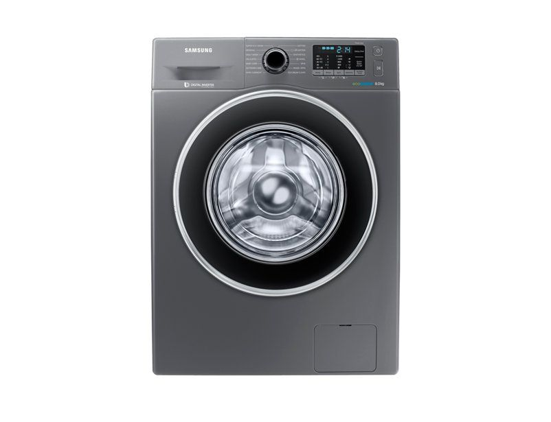 Samsung 8 Kg Front Loading Fully Automatic Washing Machine Ww80j5410gx Fully Automatic Washing Machine Automatic Washing Machine Front Loading Washing Machine