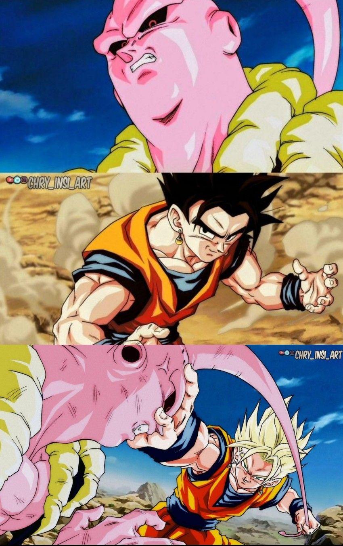 What If Gokhan Goku Gohan Fusion By Chry Insi Art Anime Dragon Ball Super Dragon Ball Art Dragon Ball Artwork