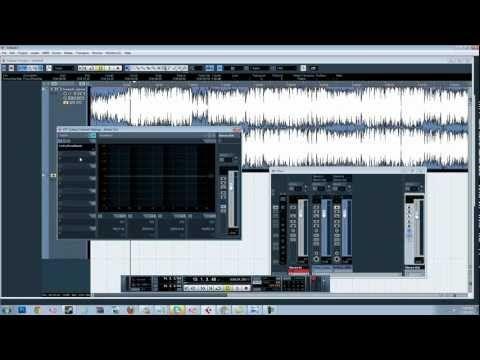 Studio Quality Vocals In Cubase 5 Mastering Using Waves Cubase Studio Recording Studio